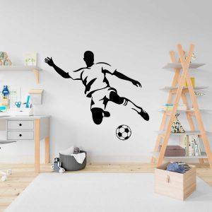 wall sticker cópia+ futebolista jogador de futebol mod.56