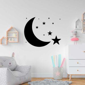 wall sticker lua estrelas cópia+ viana do castelo mod 58