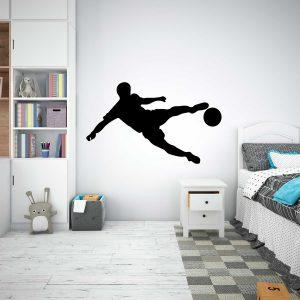 wall sticker cópia+ viana do castelo futebolista jogador de futebol mod.59